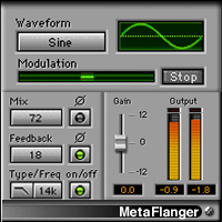 MetaFlanger - Flanging, phasing, chorusing, and more