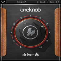 OneKnob Driver - Easy-to-use distortion plugin inspired by famous guitar pedals