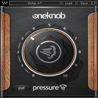 OneKnob Pressure - Easy-to-use dynamics processor