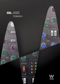 SSL 4000 Collection - Four plugins meticulously modeled on the legendary SSL 4000 Series