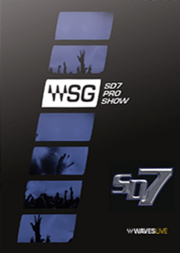SD7 Pro Show - Over 100 SoundGrid®-compatible plugins for DiGiCo SD7 consoles