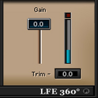 LFE360 Low-Pass Filter - Low-pass filter plugin for surround sound