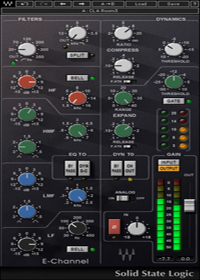 SSL E-Channel - Unsurpassed for hard-hitting drum sounds