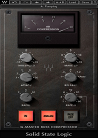 SSL G-Master Buss Compressor - Perfect for tightening up final mixes