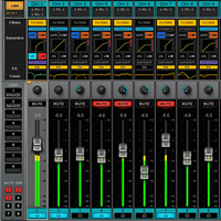 eMotion LV1 Live Mixer - 32 Stereo Channels - Join a New Era of Live Sound Mixing