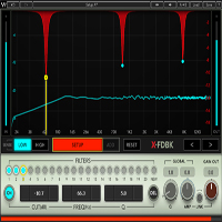 X-FDBK - Identify the precise frequencies that cause feedback and surgically cut them out