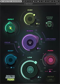 Infected Mushroom Pusher - An innovative multiband sonic enhancer and limiter/clipper