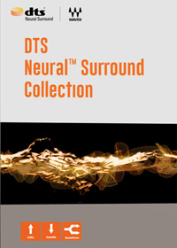 DTS Neural™ Surround Collection - Three plugins for upmixing stereo sources, downmixing 5.1 and 7.1 surround audio