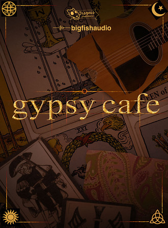 Gypsy Cafe - Gypsy Swing,Parisian and Italian Construction Kits