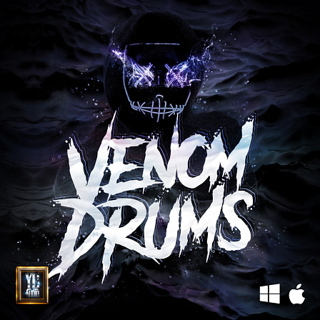 Venom Drums - 70 carefully crafted drum samples