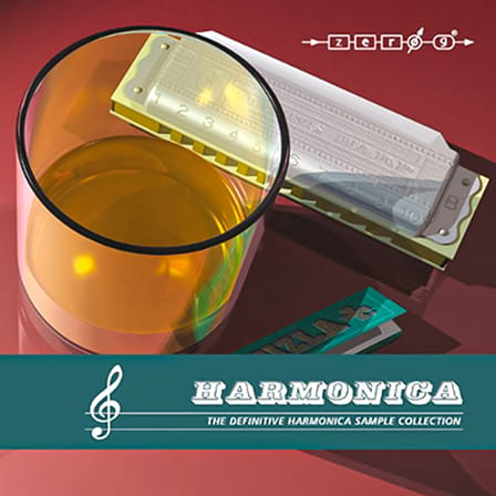Harmonica - 12 harmonica instruments, numerous samples, and over 300 riffs