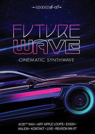 Future Wave - A new Synthwave library from Zero-G, inspired by 1980s films