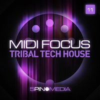 MIDI Focus - Tribal Tech house product image