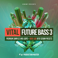 Vital Future Bass 3 Electronica / EDM Loops
