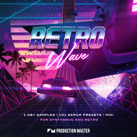 Retro Wave - Synthwave & 80's Retro product image