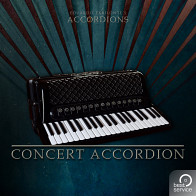 Accordions 2 - Single Concert Accordion Piano/Keyboard Instrument