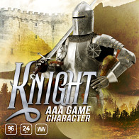 AAA Game Character Knight product image