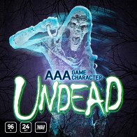 AAA Game Character Undead product image