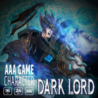 AAA Game Character Dark Lord product image