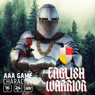 AAA Game Character English Warrior product image
