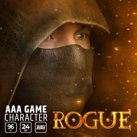 AAA Game Character Rogue product image