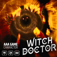 AAA Game Character Witch Doctor product image