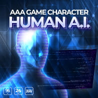 AAA Game Character: Human AI product image