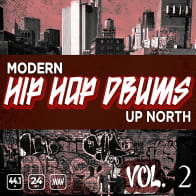 Modern Up North Hip Hop Drums Vol 2 product image