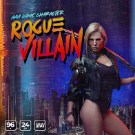 AAA Game Character Female Rogue Villian product image