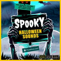 SPOOKY HALLOWEEN SOUND EFFECTS LIBRARY product image