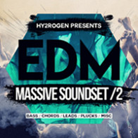 EDM Massive Soundset 2 product image