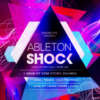 Ableton Shock Template product image