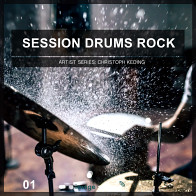 Session Drums Rock 1 – Tasty Fat Rock Drums product image