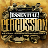 Loopmasters Presents Essentials 06 - Percussion product image