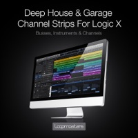 Deep House & Garage Channel Strips - Logic X product image