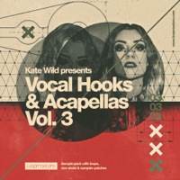 Kate Wild - Vocal Hooks & Acapellas Vol 3 product image