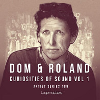 Dom & Roland - Curiosities Of Sound product image