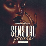 Sensual Vocal Hooks Electronica / EDM Loops