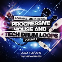 Progressive House And Tech Drum Loops Vol.2 product image