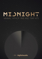 Midnight: Minimal Hip Hop, RnB and Trap Kits product image