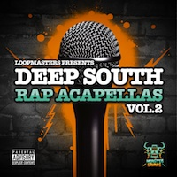 Deep South Rap Acapellas Vol.2 product image