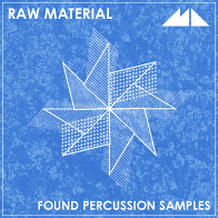 Raw Material - Found Percussion Samples product image