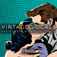 Origin Sound: Vintage Vocals - Movie Cuts & Scratches Vol II product image
