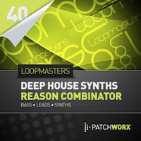 Deep House Synths Reason Combinator Presets product image