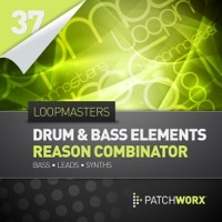 Loopmasters Presents Drum & Bass Elements Reason Combinators product image