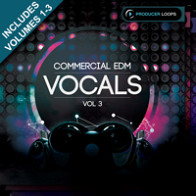 Commercial EDM Vocals Bundle (Vols 1-3) product image