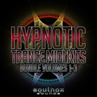 Hypnotic Trance MIDI Kits Bundle (Vols.1-3) product image