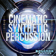 Cinematic Synthetic Percussion product image