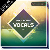Deep House Vocals Bundle (Vols.1-3) product image