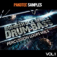 Bombshock: D&B Percussion Loops Vol.1 product image